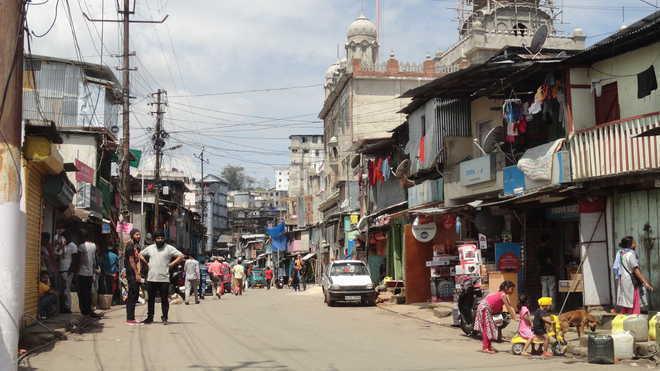 Punjabi Lane in Shillong. (File image)