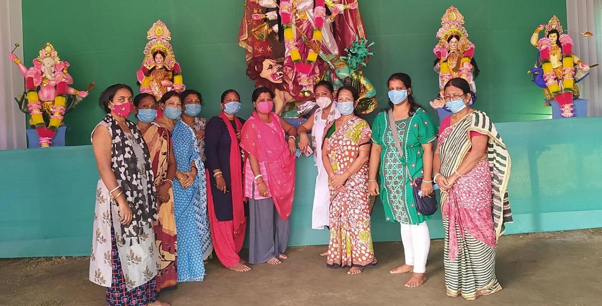 When 'mothers' in Guwahati worship Goddess Durga 1