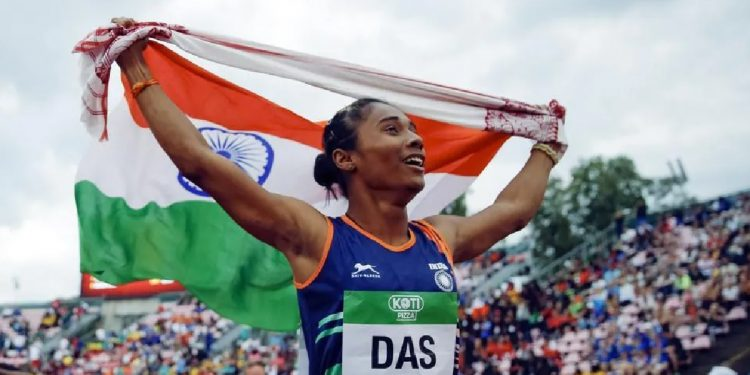 Assam: 'Dhing Express' Hima Das tests COVID-19 positive 1