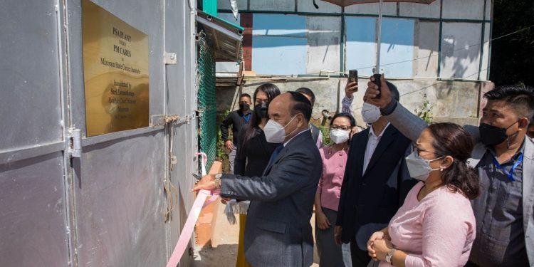 13 PSA oxygen plants installed in hospitals across Mizoram 1
